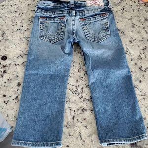 True Religion Kate Jeans Little Girls size 6